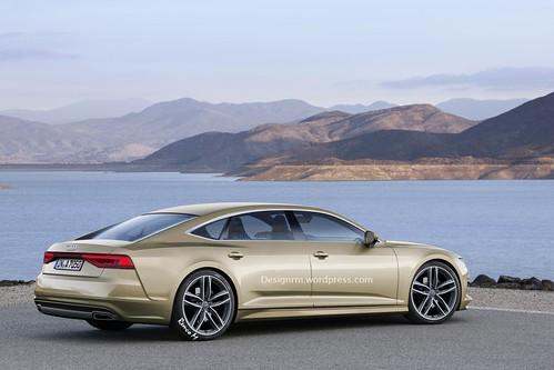 Рендер Audi A7 Sportback RM Design