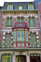 Mers-les-Bains (Somme) - Villa du centre ville (Morio60) Tags: 80 picardie somme merslesbains