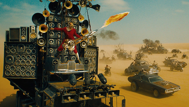 Mad Max: Fury Road Is Almost Stolen By A Flame-Throwing Guitarist