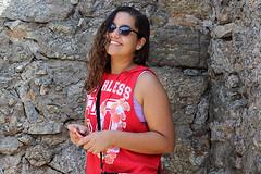 Forte de Copacabana - RJ (Tamy Nbrega) Tags: travel family brazil praia beach nature water fashion rio brasil riodejaneiro photoshop canon photography rj sopaulo travellers copacabana sp brazilian lagoarodrigodefreitas brasileiro fortedecopacabana brasileira viajante cubato photosho karyne errejota canont3i