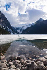 Lake Louise (Pedja Photo (Pedja G)) Tags: canada landscape frozen alberta lakelouise predrag canadianrockies sonyalpha sonyalpha200 pedjag pedjaphoto predragg dt1650mm28ssm