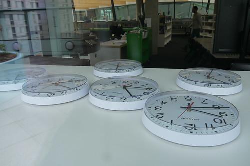 Clocks, Chobham Academy