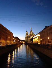 White nights in St.Peterburg (roomman) Tags: old colour tower church water beautiful architecture river stpetersburg gold golden design canal big high cathedral russia decoration petersburg spire peter huge pete tall stpete russian orthodox pieter decorated neva stp builidng 2015 coloursful