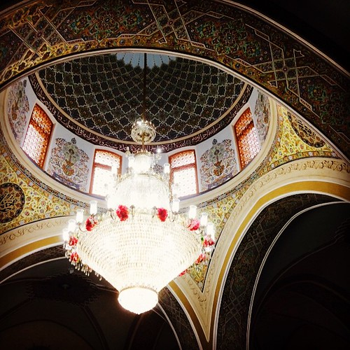 Inside the Mosque #Baku