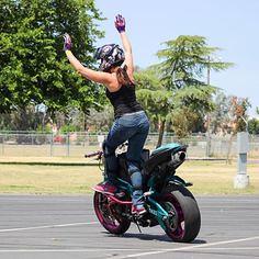 Robyn Diamond aka Ro (BikerKarl2013) Tags: robyn diamond aka ro badass motorcycle helmet store biker stuff motorcycles