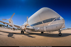 DMA.2014 # NASA B-377 Super Guppy N940NS awp (CHR / AeroWorldpictures Team) Tags: nasa boeing 377sg superguppy cn 15938 n940ns history aircraft 1949 built b377 stratocruiser first flight powered pratt whitney pw t34 turboprops sep1949 delivered panamericanworldairways pa paa reg n1038v named clipperconstitution clipperhotspur 1960s cvtd aero spacelines super guppy 1967 1990 flew usaf yc97j 522693 carry huge rocket apollo program saturn parts retired load 20 tons display amazing pimaairspacemuseum davismonthan dma kdma arizona az usa museum boneyard preserved desert nikon d300s lenses fisheyes lr