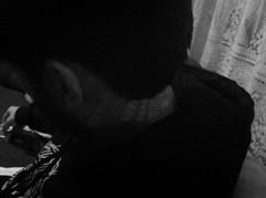 Neck detail (Helena Gleich) Tags: neck boyfriend shadow cool style