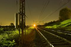At the end of the rails (Douglas M.P.) Tags: rails binari light