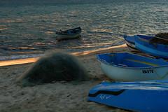 Evening in Blue (Sergei P. Zubkov) Tags: sea boats blue seascape september 2008