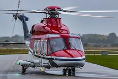 PH-SHL AgustaWestland AB-139 (jochem568) Tags: outdoor regen rain weer weather helicopter helikopter den helder airport vliegveld noord holland nederland north netherlands agustawestland ab139 kooy