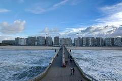 Blankenberge (DirkVandeVelde back) Tags: europa europ europe belgie belgium belgica belgique blankenberge pier zee sea piervanblankenberge sony strand beach outdoor noordzee atlantischekust westvlaanderen