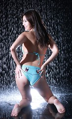 DP1U1230 (c0466art) Tags: sweet baby taiwan high school girl young  pretty face good figure bikini water fall spill studio flash light effect special play fun interesting fantastic image charming gorgeous indoor portrait canon 1dx c0466art