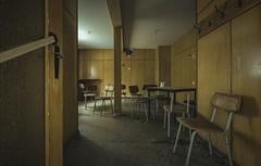 calm and dust (Nils Grudzielski) Tags: lostplaces abandonedplaces urbanexploration verlasseneorte forgotten ruin rotten indoor ddr marode decay desolate derelict old kaffee cafe hotel