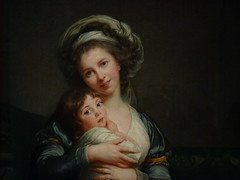 VIGE-LE BRUN Elisabeth,1786 - Portrait de l'Artiste avec sa Fille, La Tendresse maternelle (Louvre) - Detail -c (L'art au prsent) Tags: art painter details dtail dtails detalles painting paintings peinture peintures 19th 19e peinture19e 19thcenturypaintings 19thcentury detailsofpainting detailsofpaintings tableaux personnage figure figures people personnes portrait elisabethvigelebrun elisabeth vigele brun aristocrate aristocrat aristocratie aristocracy noblesse nobility femme woman beauty beaut lgant elegant elegantwoman robe dress dresses young jeune jeunesse youth louvre paris france portraitdelartisteavecsafille latendressematernelle julie daughter fille family littlegirl girls littlegirls petitefille jeunefille girl fillette female autoportrait selfportrait