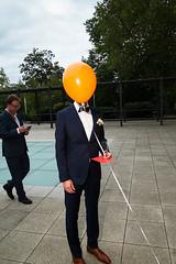 . (krameroneill) Tags: spandau germany deutschland wedding weddingphotography groom ballon fujifilm xpro flash krameroneill 2016