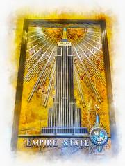 Empire State (lloydboy52) Tags: empirestate empirestatebuilding lobby basrelief mural artdeco artmoderne nyc newyorkcity newyork