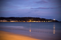 Egunsentia (Asier Toledo) Tags: hendaya france beach sunrise water sky waves