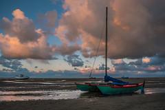 catamaran (Star*sailor) Tags: clouds sunset catamaran