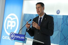 Rueda de prensa de Xavier Garcia Albiol