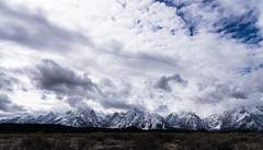 Distant Picket (fotostevia) Tags: grandtetonnationalpark grandtetons snow mountains winter