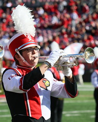 Marching Cards at Homecoming - Photo Credit: Greg Meadors (MarchingCards) Tags: uofl universityoflouisville cmb cardinalmarchingband marchingcards cardinal marching band louisville cards louisvillecardinals ul cardinals marchingband music photo photos college football tuba trumpet drum horn clarinet flute cardinalband foodball brass drums bugle mellophone acc homecoming