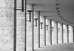 Olympiastadion 02 (chayawita) Tags: canon canonistas 6d olympiastadion berlin bw bn blanconegro deutschland architektur arquitectura