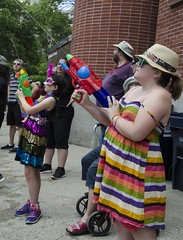 D7K_5953_ep (Eric.Parker) Tags: march pride toronto dyke lesbian nudity parade 2016 breast naked breasts topless publicnudity public candid nude gender gay homosexual lgbtq facepaint watergun squirtgun