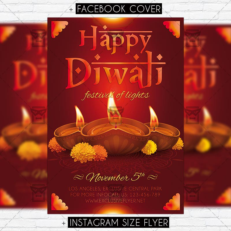 The worlds best photos of diwali and greeting flickr hive mind happy diwali premium psd flyer template exclusiveflyer tags diwali diya greeting happy m4hsunfo