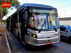 2 3104 Sambaíba Transportes Urbanos (busManíaCo) Tags: sambaíba transportes urbanos caio millennium brt articulado mercedesbenz o500uda bluetec 5 urbano uda busmaníaco bus buses 公共汽车