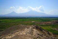 Ararat mountain from Khor Virap, Armenia (Andrey Sulitskiy) Tags: ararat armenia khorvirap