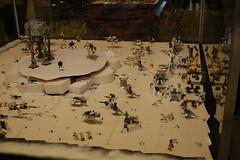Star Wars Merchandise exhibition (sander_koenen92) Tags: starwars lego layout exhibition endor hoth showcase merchandise