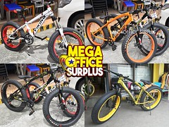 Cheap Fat Bike Supplier in Manila - MEGAOFFICE SURPLUS PHILIPPINES (megaofficesurplus) Tags: buy1take1p5 000only100brandnewpremiumbrandedvikingmountainbikewith26 rim now offering super low price save much 70 compared mall bike shops for single orderget viking mt p2800 only check out our other items alloy bikefat bikekids bikefolding bikebmxetc prices may vary offer good while supply last exclusively offered all megaoffice surplus showroom tondo fat big biker supplier importer wholesaler tire shimano viper megabike metro manila philippines buy 1 take one cheap parts