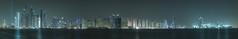 A panoramic image of Dubai (Valter Patrial) Tags: dubai united arab emirates city urban lights nocturnal long exposure panoramic emirados cidade urbano luzes não sobrinha longa exposição panorâmica