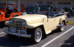 161029_16_GHD_Jeepster (AgentADQ) Tags: car meet show auto automobile classic collectible gator harleydavidson leesburg florida 1951 willys jeepster convertible