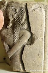 Amarna Period relief (konde) Tags: amarnaperiod memfis memphis 18thdynasty newkingdom nefertiti relief limestone ancientegypt aten cartouche
