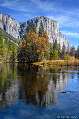 Yosemite Valley - Peaceful Afternoon - 0903 (www.karltonhuberphotography.com) Tags: yosemiteconnect 2016 autumn california cliffface driftingclouds elcapitan fallcolors flowingwater karltonhuber landscape mercedriver mountaintop outdoors peaceful reflection river serene sky tranquil verticalimage wildplaces yosemite yosemitenationalpark yosemitevalley
