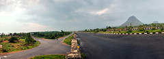 NH 7 - Valliyur Bye-Pass (Yesmk Photography) Tags: nh7 vallioor valliyur tirunelveli nellai tamilnadu india tn road panorama yesmk muthukumar landscape