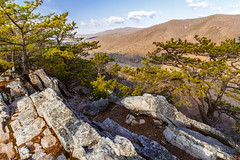 Fort Valley. Virginia (Vladimir Grablev) Tags: view rock landscape nature trunk formation panorama background beautiful appalachian trees shenandoah colorful mountains tree ridges forest scenic trail sky roots foreground branches virginia crest