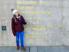 Phoebe at the Turner Contemporary Gallery, Margate - archiving. (favmark1) Tags: turner turnercontemporary margate phoebe