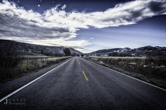 Wintery Country Road (CasasPhotography) Tags: wintery road winter country colorado fort collins