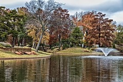 Fall Colors (Kool Cats Photography over 8 Million Views) Tags: landscape outdoor trees fall colors oklahoma water lake canoneos6d urban hdr