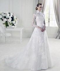 إطلاق تشكيلة ناعمة من فساتين الزفاف بالقصات المحتشمة لكل عروس محجبة (Arab.Lady) Tags: إطلاق تشكيلة ناعمة من فساتين الزفاف بالقصات المحتشمة لكل عروس محجبة