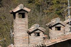 novembre 2008  Ogassa (Ripolles) (visol) Tags: camino chimeneas chimneys chamine cheminées xemeneies tximinia kaminköpfe