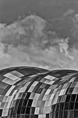 The Sage (Jessica Keating Photography) Tags: blackandwhite building architecture newcastle sage newcastleupontyne quayside
