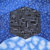 Borg Cube hovering over Earth (Jennifer Ofenstein (sewhooked.com)) Tags: startrek borgcube paperpiecedf