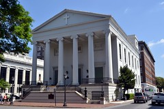 Christ Church. The Greek Revival style church is the fourth at this location, built in 1838. Considered the Mother Church of Georgia.