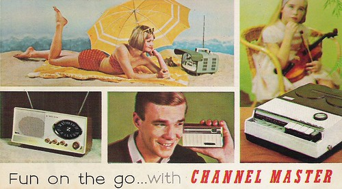 CHANNEL MASTER Radio, Television, Tape Recorder, Walkie Talkie and Interphone Brochure (USA 1961)_01