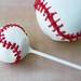 "Baseball Cake Pops and Baseball sized Cake Ball • <a style=""font-size:0.8em;"" href=""http://www.flickr.com/photos/59736392@N02/7368866126/"" target=""_blank"">View on Flickr</a>"