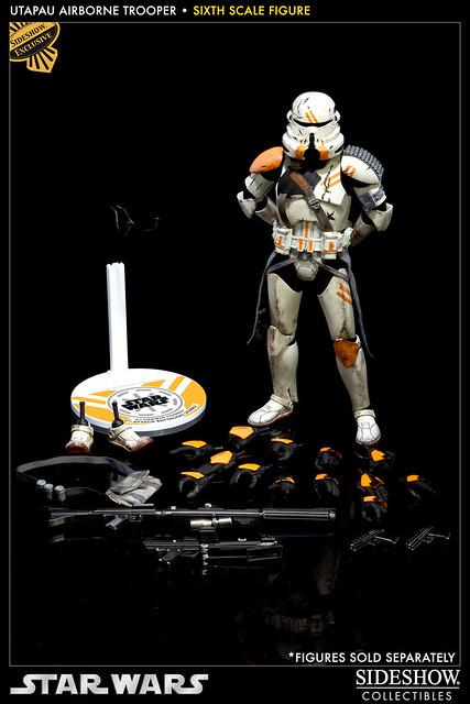 Sideshow - Utapau Airborne Trooper