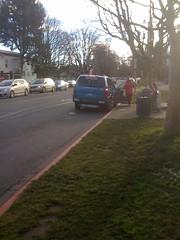 taxi cab bus stop